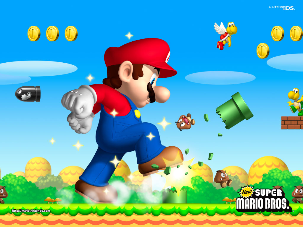 Wallpaper – Mario