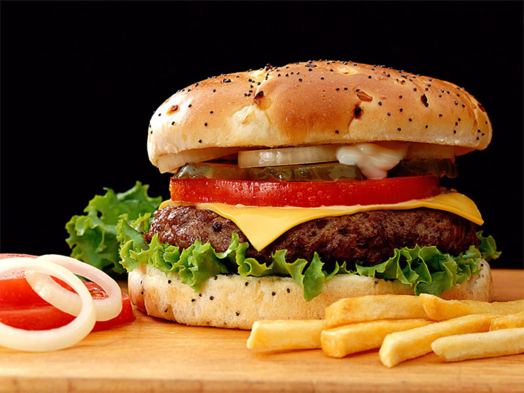 Wallpaper – hamburger