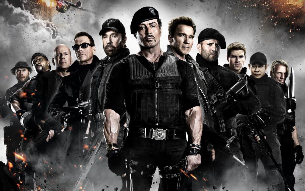 Wallpaper – The Expendables 2